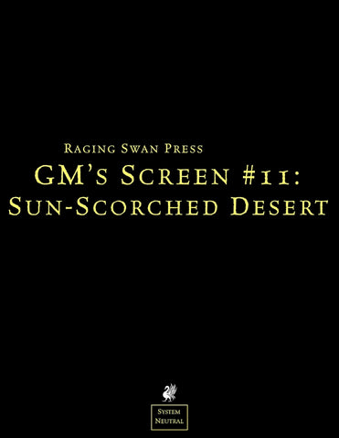 GM's Screen #11: Sun-Scorched Desert