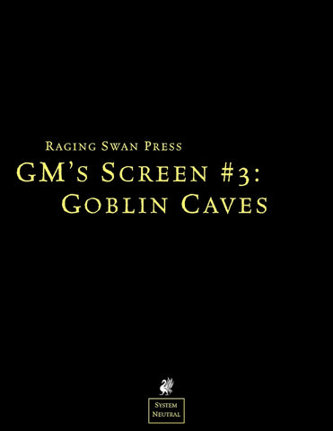 GM's Screen #3: Goblin Caves