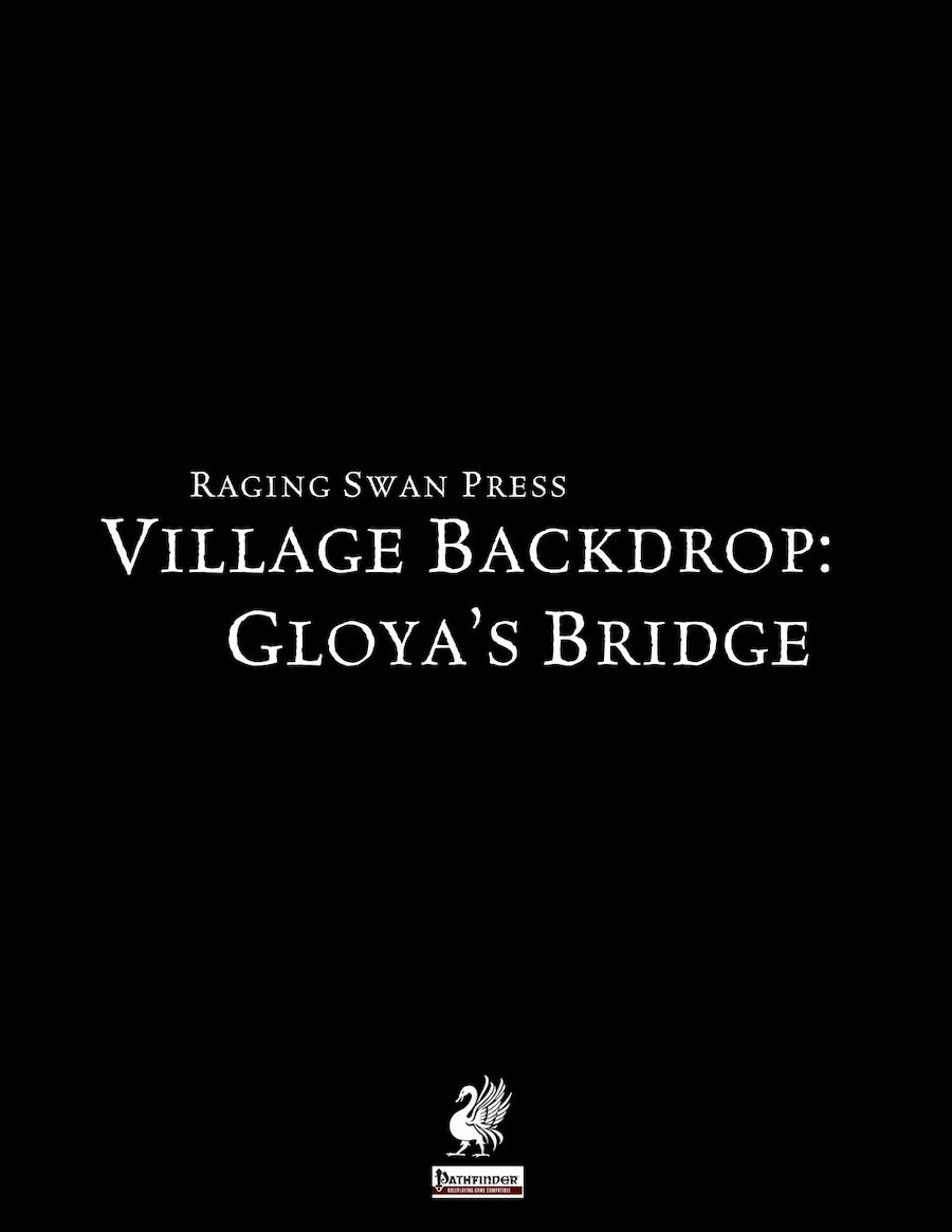 Village Backdrop: Gloya's Bridge