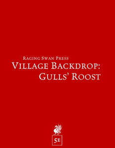 Village Backdrop: Gulls' Roost (5e)
