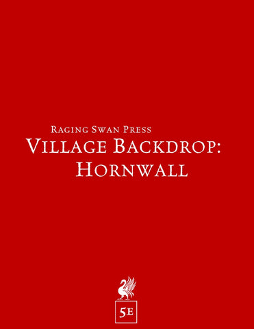 Village Backdrop: Hornwall (5e)