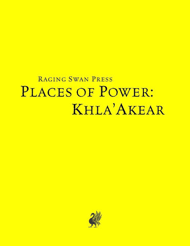 Places of Power: Khla-Akear (SNE)