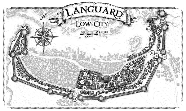Languard Locations: Low City