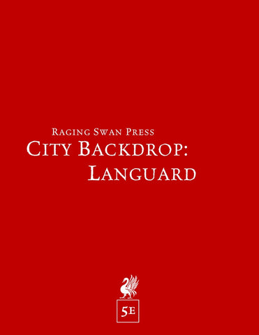 City Backdrop: Languard (5e)