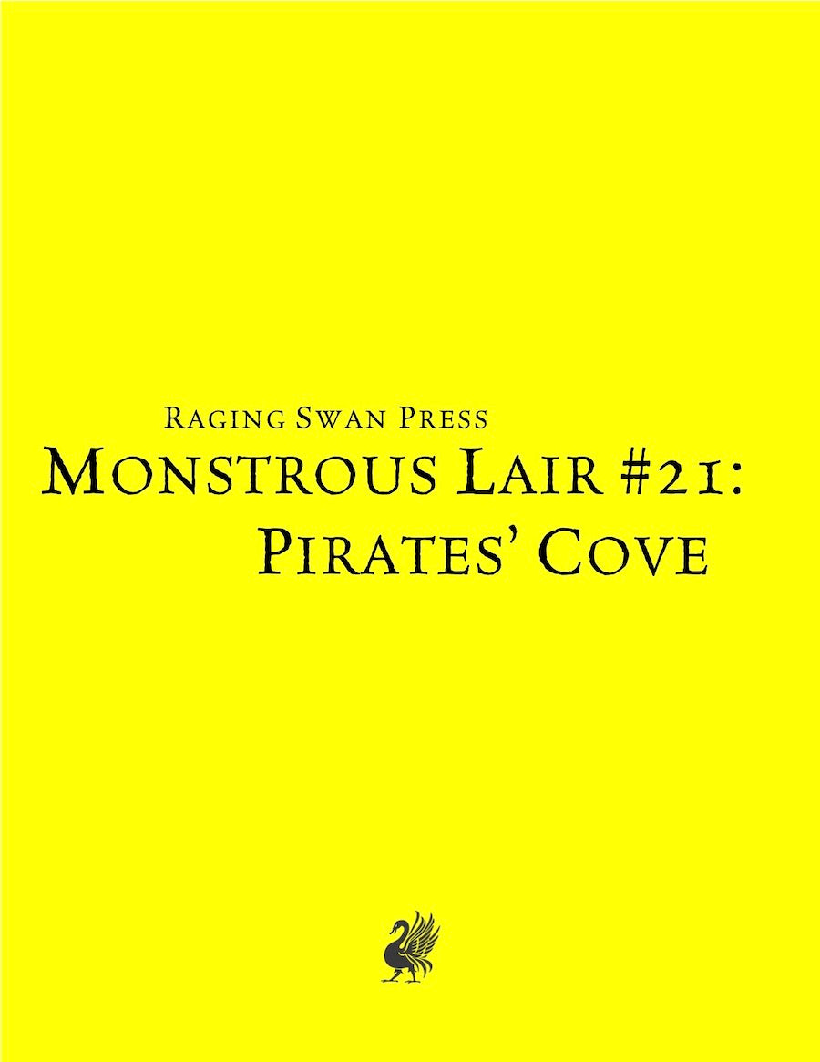Monstrous Lair #21: Pirates' Cove