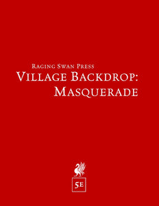 Village Backdrop: Masquerade (5e)