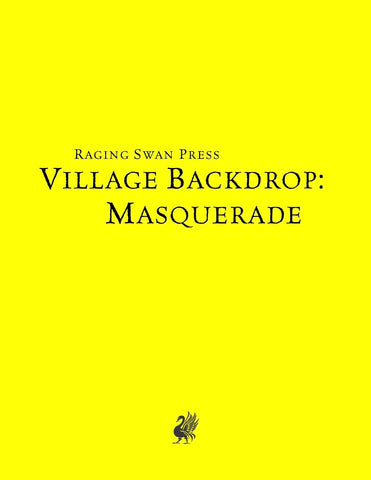 Village Backdrop: Masquerade (SNE)