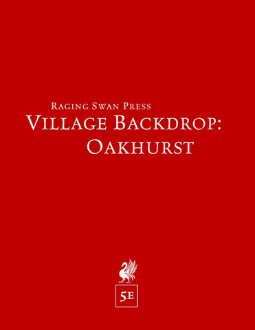 Village Backdrop: Oakhurst (5e)