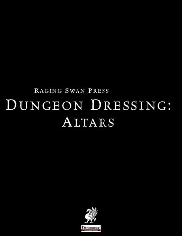 Dungeon Dressing: Altars 2.0