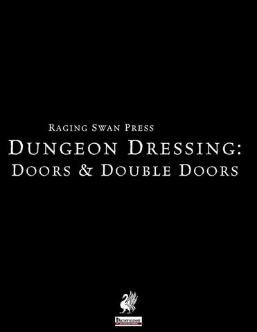 Dungeon Dressing: Doors & Double Doors 2.0 (P1)