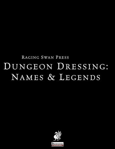 Dungeon Dressing: Names & Legends 2.0