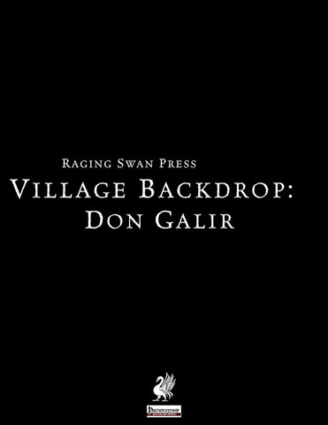 Village Backdrop: Don Galir (P1)