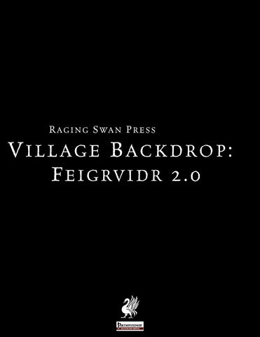 Village Backdrop: Feigrvidr 2.0 (P1)