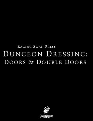 Dungeon Dressing: Doors & Double Doors 2.0 (P2)