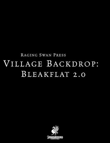 Village Backdrop: Bleakflat 2.0 (P2)