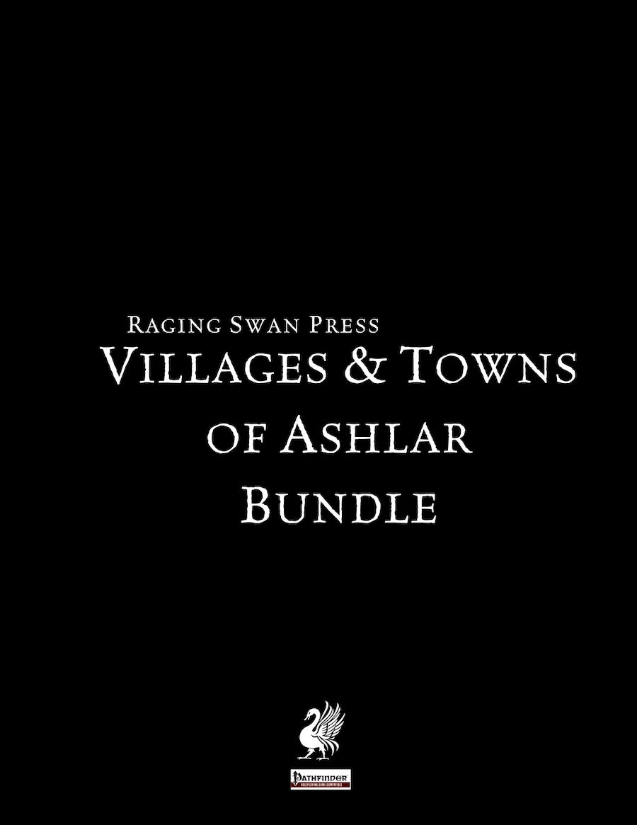 Villages & Towns of Ashlar Bundle (Pathfinder Edition)