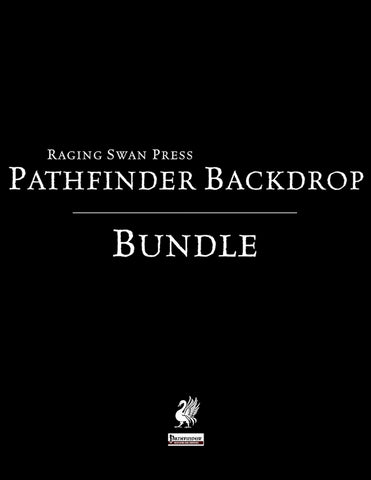 The Pathfinder Backdrop Bundle