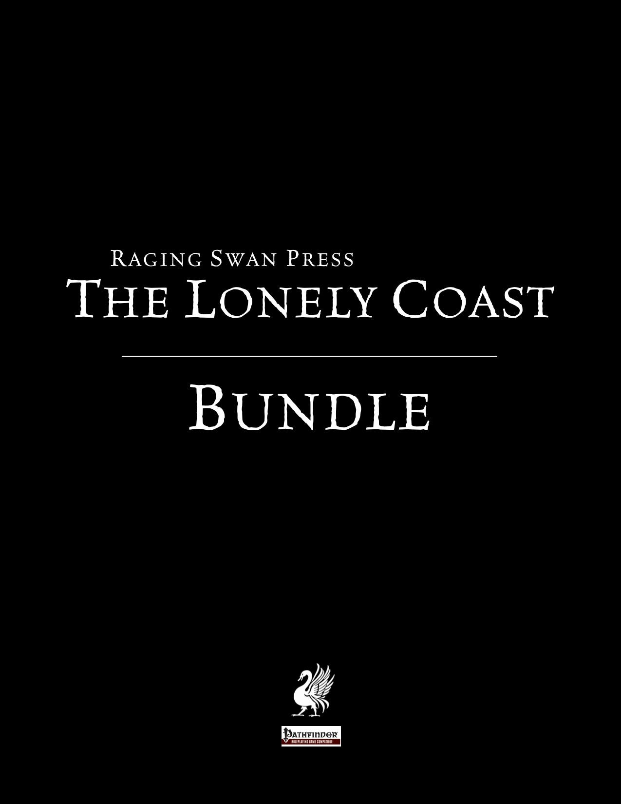 The Lonely Coast Bundle