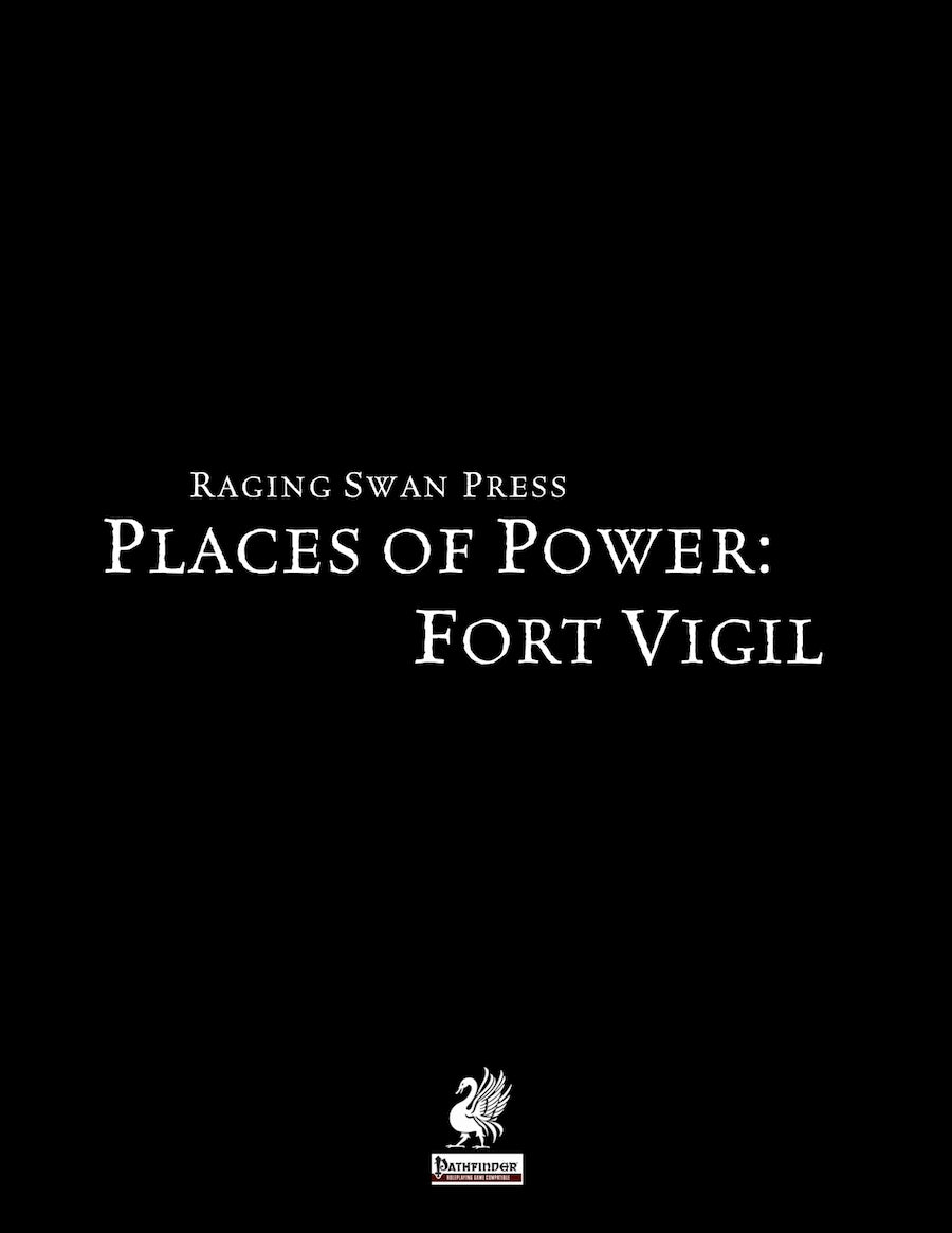 Places of Power: Fort Vigil