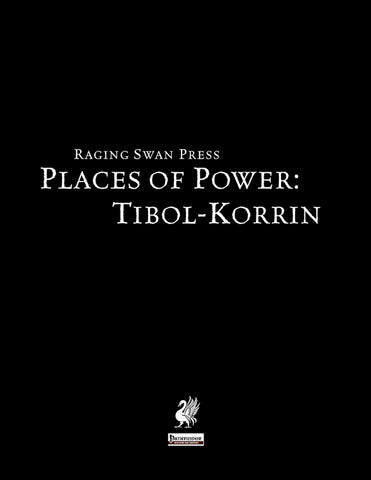 Places of Power: Tibol-Korrin