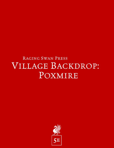 Village Backdrop: Poxmire (5e)