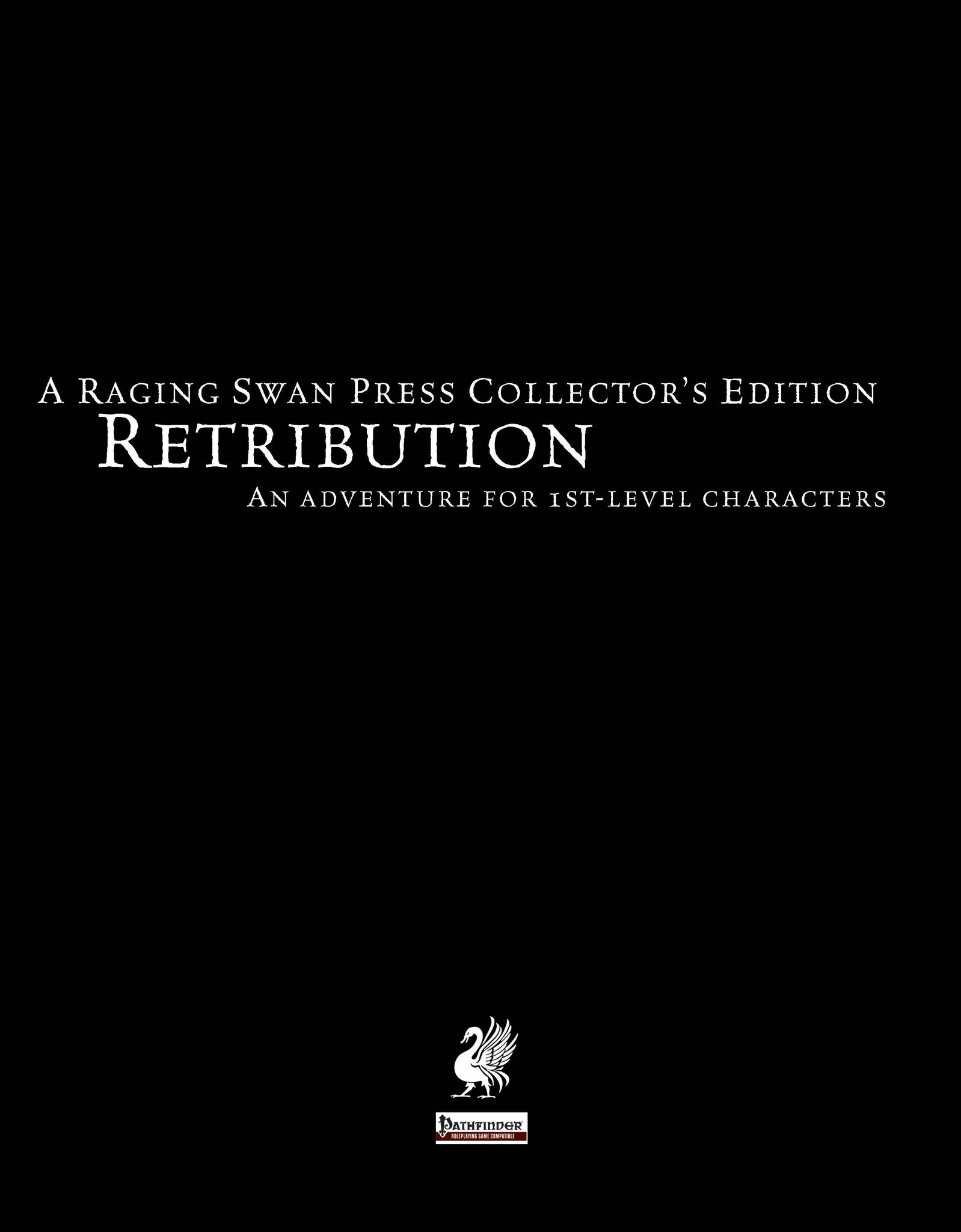 Retribution Collector's Edition