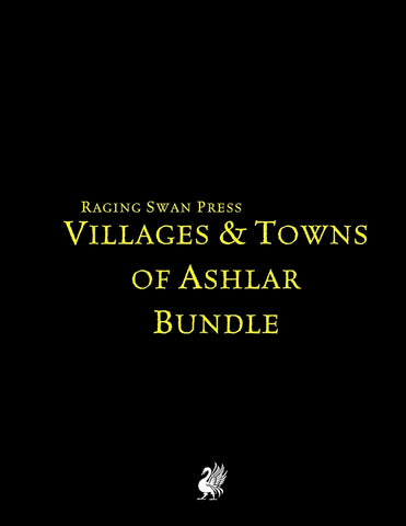 Villages & Towns of Ashlar Bundle (System Neutral Edition)