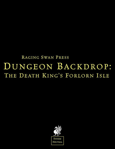 Dungeon Backdrop: The Death's King's Forlorn Isle (SN)