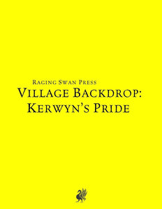 Village Backdrop: Kerwyn's Pride (SNE)