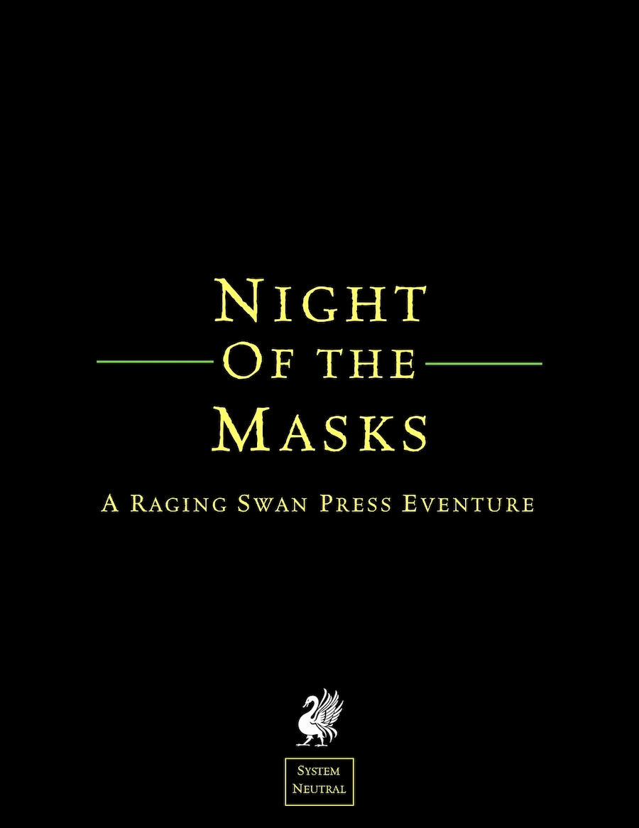 Night of the Masks (SN)