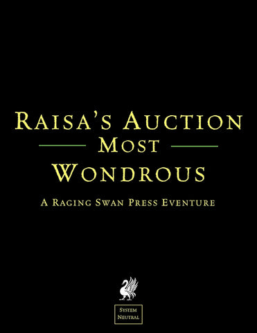 Raisa's Auction Most Wondrous (SN)