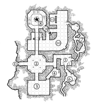 GM's Miscellany: Dungeon Backdrops (SN/OSR)