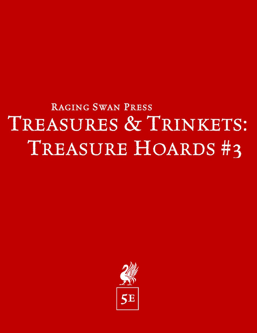 Treasures & Trinkets: Treasure Hoards #3