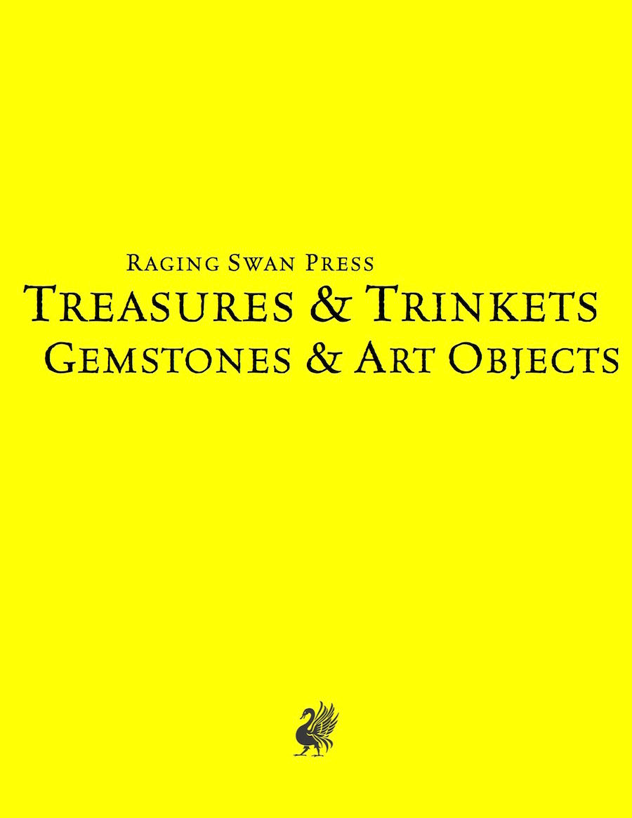 Treasures & Trinkets: Gemstones & Art Objects (SN)
