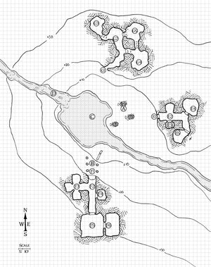 Shunned Valley of the Three Tombs (5e Edition)