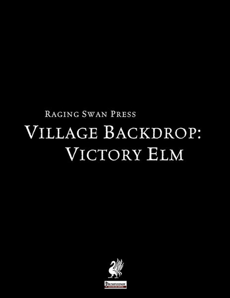 Village Backdrop: Victory Elm