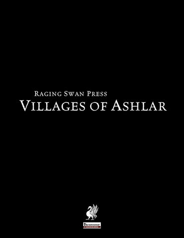 Villages of Ashlar (Pathfinder Edition)