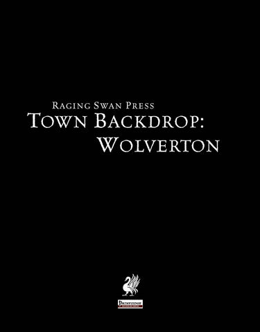 Town Backdrop: Wolverton