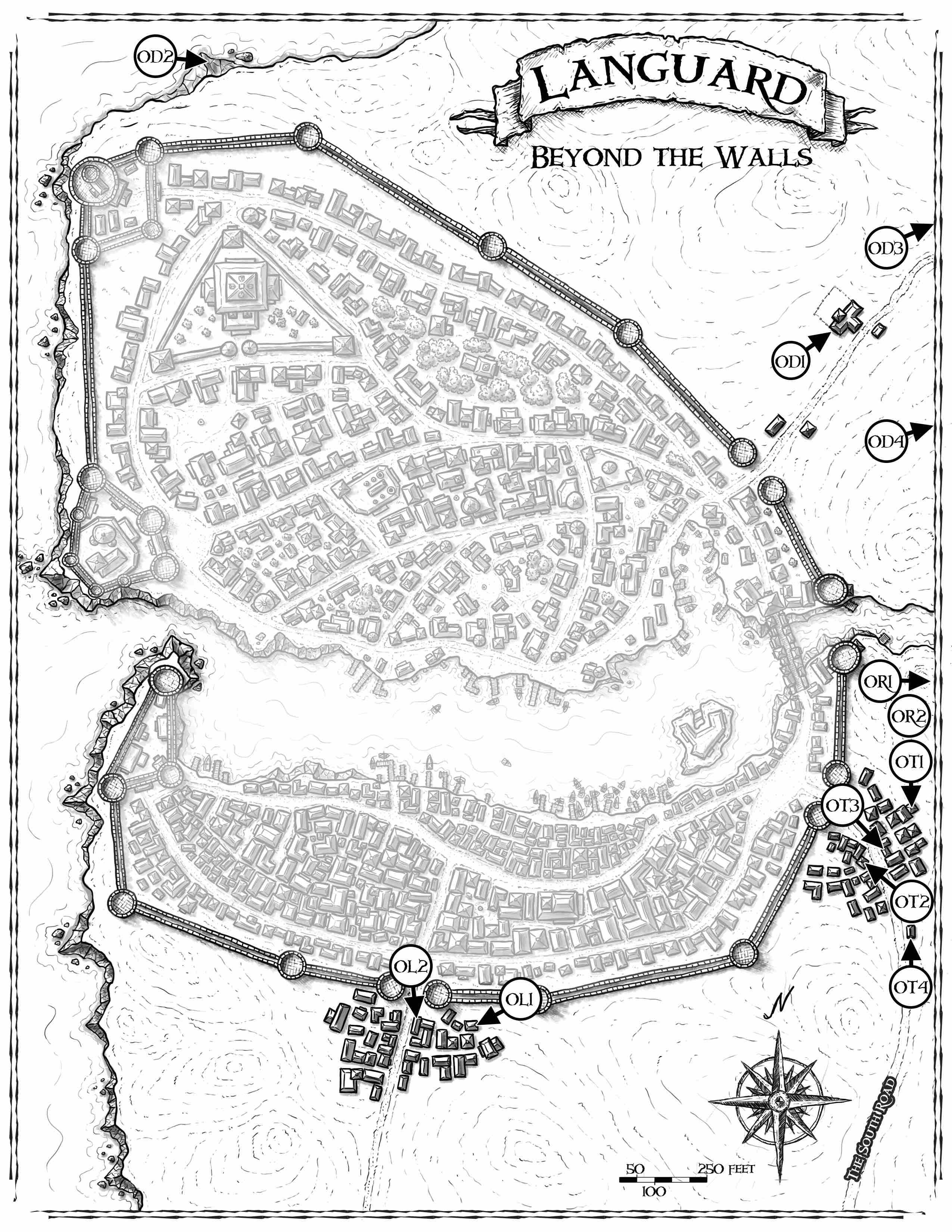 The City of Languard Bundle (Pathfinder)