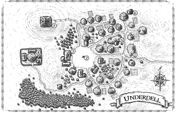 Villages of Ashlar Map Download