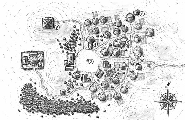 Village Backdrop: Underdell (5e)