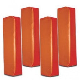 Set of 4 American Football End Zone Pylons