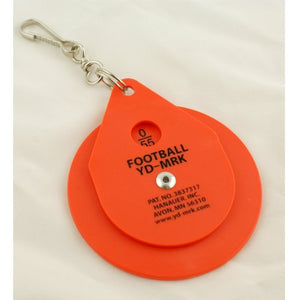 American Football Clip-on Chain Yardage Marker Dial