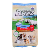 Buzz Puppy Sensitive Skin Lamb Formula เม็ดใหญ่ 3 kg.