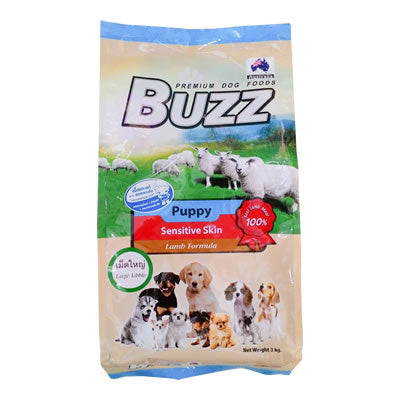 Buzz Puppy Sensitive Skin Lamb Formula 1.2 kg.