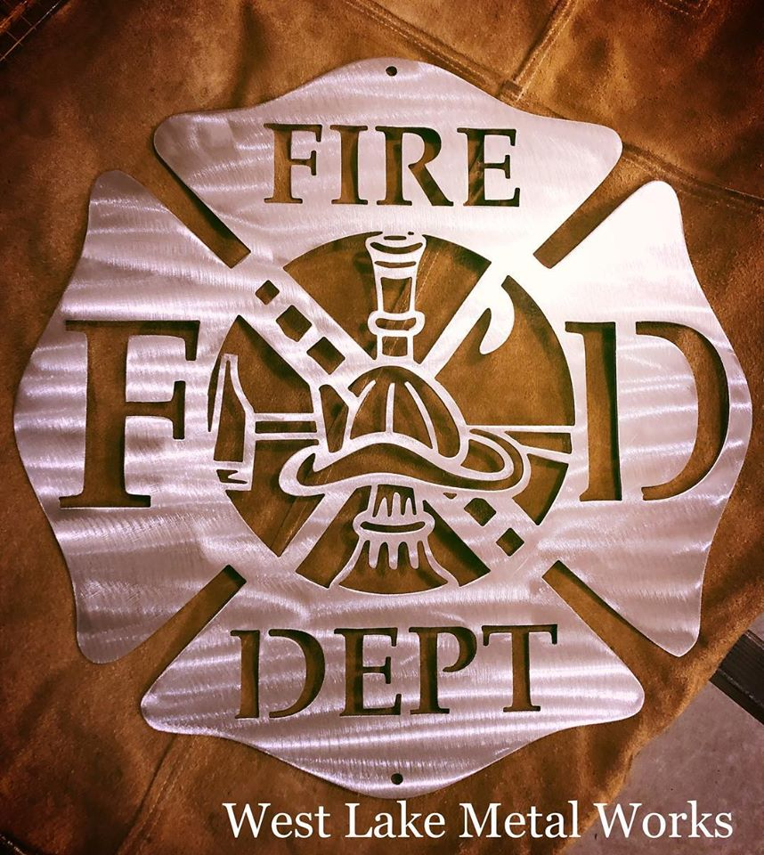 Fire Department FD sign