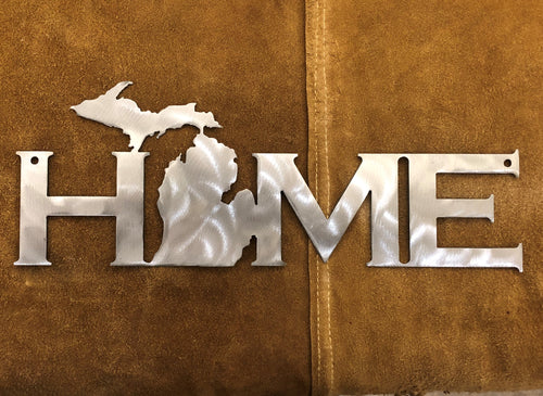 Michigan HOME sign