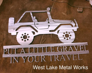Jeep - Put Some Gravel In Your Travel