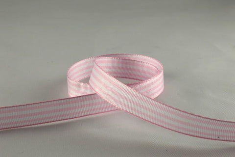 10mm Candy Pencil Striped Ribbon x 5 Metre Rolls!!