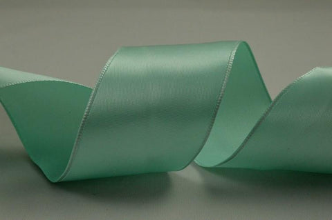38mm Wired Single Satin Ribbon x 4 Metre Rolls!!